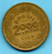 R300/  BRESIL  2000 Reis 1939 - Brésil
