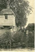 Creully. Le Vieil Escalier Et L'échauguette Du Chateau De Creully. - France