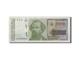 Argentine, 500 Australes, KM:328a, SPL - Argentine