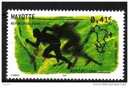 Mayotte N° 128 XX  Sport : Athlétisme  Sans Charnière TB
