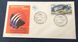 £££ France - Enveloppe Timbre FDC - 1987 - Avion Espace Le Bourget - Non Classés