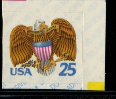 221508500 USA 1989 ** MNH SCOTT 2431 Eagle And Schield Birds Bookletstamp - United States