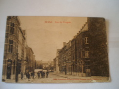 Ronse - Renaix // Rue Du Progres (animee) RARE Street View // 19?? Bottom Damaged Spot (photo) - Renaix - Ronse