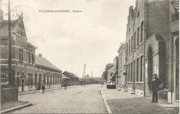 HOUDENG-GOEGNIES. Station. - (scan Verso) - La Louvière