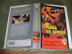 """Rare Film : """" Otages En Sursis """" - Horreur"""