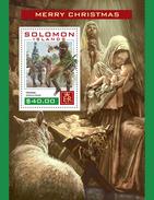SOLOMON Isl. 2016 - Christmas, Donkey S/S