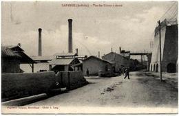 07. LAFARGE.  VUE DES USINES A CHAUX - Autres Communes