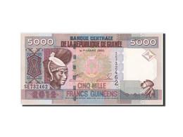 Guinea, 5000 Francs, 2012, KM:41b, NEUF - Guinée
