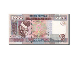 Guinea, 5000 Francs, 2012, KM:41b, NEUF - Guinea