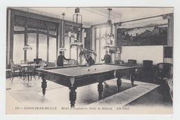 64 - SAINT JEAN DE LUZ / HOTEL D'ANGLETERRE - SALLE DE BILLARD - Saint Jean De Luz