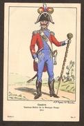 Genève ( Suisse ) Tambour-Maître De La Musique Rouge 1814 -illustrateur H.C. Forestier - Série 5 N° 8 - War 1914-18