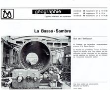 La Basse-Sambre, Fascicule édité Par La Télévision Scolaire Belge - Books, Magazines, Comics