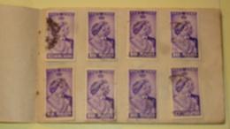 Carnet De 30 Timbres O Etats Federes De Malaisie 1948 Noces D'Argent Du Couple Royal Britannique - Malayan Postal Union