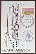 1980 PORDENONE 5^ FIERA NAZIONALE DEL RADIOAMATORE /  ANNULLO POSTALE - Manifestazioni