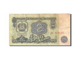 Bulgarie, 2 Leva, 1962, KM:89a, 1962, TB - Bulgarie