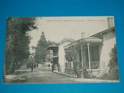 """33 ) Saint-médard-en-jalles """" Souges """" L'avenue Du Moulin """" Motocyclette """"-  Année 1910 : EDIT : - France"""