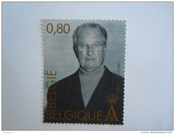 België Belgique 2004 Koning Roi Albert II 70 Anniversaire COB 3290 Timbre Du BL 113 Yv 3277 Timbre Du Bloc 103 MNH ** - Belgium