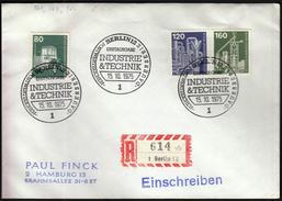 Germany Berlin 1975 / Industrie & Technik / Industry & Technology - Fabbriche E Imprese