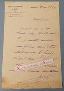 L.A.S 1930 Capitaine Gaston HIERLE - NARBONNE - 80è RI - Au Docteur Masquin - Lettre Autographe LAS - Autographes