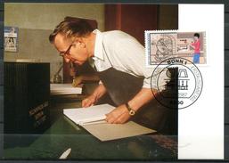"Germany,Allemagne 1987 Maxicart,MC Mi.Nr.1318""Handwerksberufe,Buchbinder,Jugendmarke"" 1MK Used - Fabbriche E Imprese"