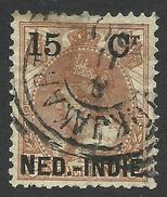 Netherlands Indies, 15 C. 1900, Sc # 33, Used - Indes Néerlandaises