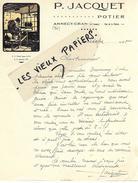 74 - Haute-savoie - ANNECY-CRAN - Facture JACQUET - Potier - 1945 - REF 52D - France