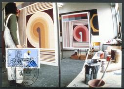 "Germany,Westberlin 1987 Maxicart,MC Mi.Nr.783 ""Handwerksberufe,Maler,Lackierer,Jugendmarke"" 1MK Used - Factories & Industries"