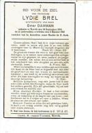2239 LYDIE BREL WERVIK 1894 + 1941 - Santini