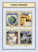 SIERRA LEONE 2016 - Global Warming. Official Issue. - Umweltverschmutzung
