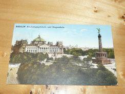 Berlin - Reichstagsgebäude Und Siegessäule Germany - Autres