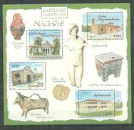 FRANCE MNH ** Bloc 101 Capitales Européennes Nicosie Chypre - Blocs & Feuillets