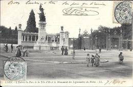 Lyon Le Parc De La Tete Dor - Lyon