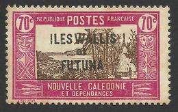 Wallis And Futuna, 70 C. 1938, Sc # 61, MH - Unused Stamps