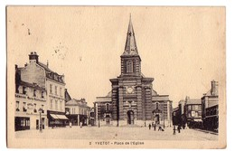 YVETOT: Place De L'Eglise - Yvetot