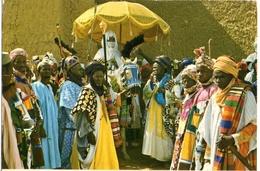 NIGERIA - THE EMIR OF KANO AND HIS ENTOURAGE - VG FG - C438 - Nigeria