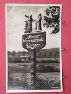 Visuel Très Peu Courant - Allemagne - Wegweiser Häusern - Luftkurort Wintersportplatz - Scans Recto-verso - Waldshut-Tiengen