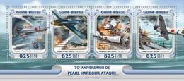 Guinee-Bissau / Guinea Bissau - Postfris / MNH - Sheet Pearl Harbor 2016 NEW! - Guinea-Bissau