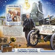 Guinee-Bissau / Guinea Bissau - Postfris / MNH - Sheet Thomas Edison 2016 NEW! - Guinea-Bissau