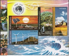 2007 Miniature Sheet On Renewable Energy