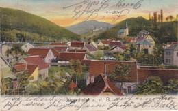 4079a: Alte AK Jugenheim A.d.B., Gelaufen Gest. Darmstadt 15.3.04 - Darmstadt