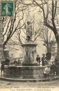 83)   SOLLIES   PONT    - La  Grande Fontaines - Sollies Pont
