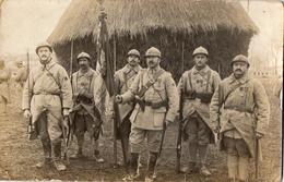 Sur Le Front   -  Numero 19 Sur Col  -  Carte Photo - Guerre 1914-18