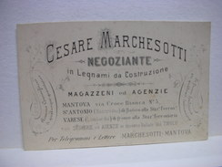 MANTOVA  -- CESARE MARCHESOTTI  -- NEGOZIANTE - Mantova