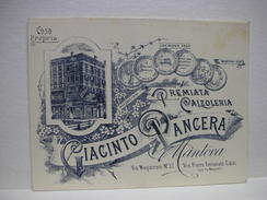 MANTOVA  --GIACINTO PANCERA      --  PREMIATA CALZOLERIA - Mantova