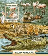 Guinee-Bissau / Guinea Bissau - Postfris / MNH - Sheet Afrikaanse Fauna 2016 NEW! - Guinea-Bissau