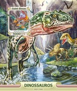 Guinee-Bissau / Guinea Bissau - Postfris / MNH - Sheet Dinosaurussen 2016 NEW! - Guinea-Bissau