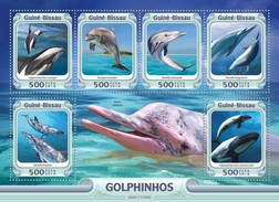 Guinee-Bissau / Guinea Bissau - Postfris / MNH - Sheet Dolfijnen 2016 NEW! - Guinea-Bissau