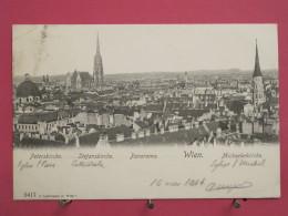 Autriche - Wien - Peterskirche Stefanskirche Michaelkirche - Précurseur 1904 - Jolis Timbres - Scans Recto-verso - Églises
