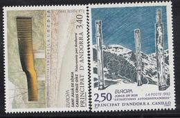 Europa Cept - 1993 - ** MNH - Andorra Francese - Europa-CEPT