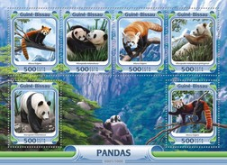 Guinee-Bissau / Guinea Bissau - Postfris / MNH - Sheet Panda's 2016 NEW! - Guinea-Bissau
